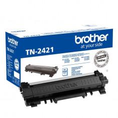 Cartus toner original Brother TN2421 Black, capacitate 3000 pagini