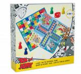 Joc 2 in 1 Tom & Jerry - Ludo/Nu te supara Tom + Serpi si scari/Sus -jos cu Tom si Jerry