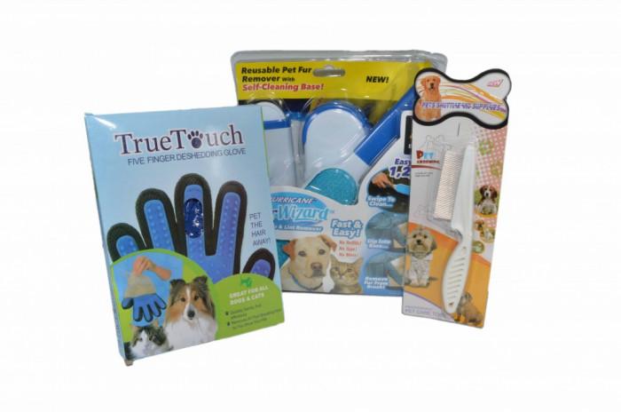 Kit complet 3 in 1 pentru ingrijire animale de companie