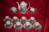 Set ceai cafea portelan japonez Gheisha sec 19, colectie, vintage