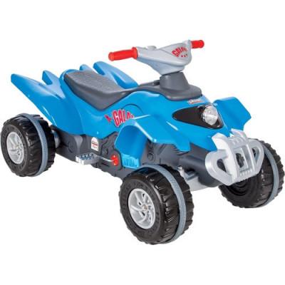 ATV cu Pedale Galaxy Albastru foto