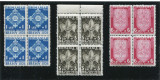 Cumpara ieftin 1936 , ROMANIA , Lp 115 , Jamboreea Nationala Brasov , Blocuri de 4 - MNH, Nestampilat