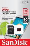 Card memorie microSDXC ULTRA, 128GB + adapter SD