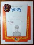 DIPLOMA MILITAR DE FRUNTE ( BREVET  ) -INSIGNA MILITAR DE FRUNTE (PERSONALIZATA)