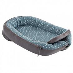 Cuib pentru bebelusi Soft Drops Ocean Blue