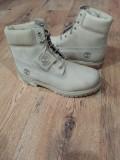 LICHIDARE STOC! Bocanci TIMBERLAND originali piele waterproof ivoire 40/41/42, 41.5, Piele naturala