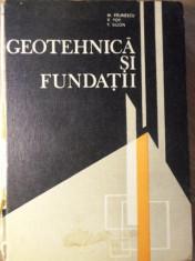 GEOTEHNICA SI FUNDATII - M. PAUNESCU, V. POP, T. SILION foto