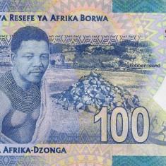 Bancnota Africa de Sud 100 Rand 2018 - PNew UNC ( SERIE NOUA - centenar Mandela)