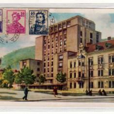 ORASUL STALIN HOTEL CARPATI RPR FRANCATURA MIXTA INTR POLIGRAFICA SIBIU