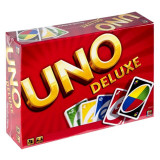 Joc de carti Uno Deluxe, 2-10 jucatori