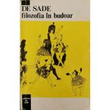 Filozofia in budoar - Marchizul de Sade