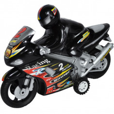 Motocicleta cu motociclist