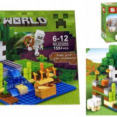 Joc creativ LB Minecraft 155 piese+