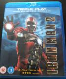Iron Man 2 (2 x BluRay, 1 x DVD)