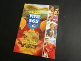 Album gol Panini FIFA 365 2020 + set complet de stickere nelipite