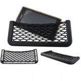 Suport Auto Tip Buzunar cu Plasa Elastica pentru Telefon sau Alte Obiecte