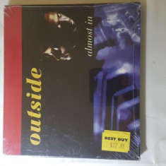 [CDA] Outside - Almost in - cd audio original SIGILAT