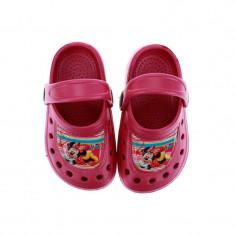 Papuci din cauciuc pentru fetite Minnie Mouse Setino 870-200F, Fucsia