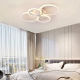 Cumpara ieftin Lustra LED Circle Design Ultra Slim Cloud SLC 4 cu Telecomanda lumina calda neutra rece