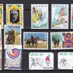 Aruba  1988/1996  sport  5 serii  complete  MNH  w59