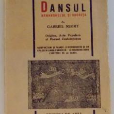 DANSUL , ROMANIA IN ISTORIA DANSULUI DE GABRIEL NEGRY