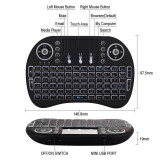 Tastatura Wireless Air Mouse Touchpad Android Tv Si Mini Pc Garantie 2 ani