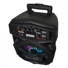 Boxa Activa Cu Statie Tip Troller 1 Microfon Wireless BOXA PORTABILA Q8