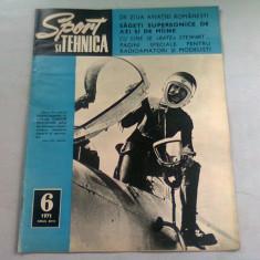 REVISTA SPORT SI TEHNICA NR.6/1971