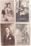 Bnk foto - Lot 20 fotografii interbelice - portrete, Alb-Negru, Romania 1900 - 1950