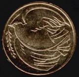 Moneda jubiliara Anglia - 2 lire 1995 - Porumbelul pacii, Europa, Cupru-Nichel