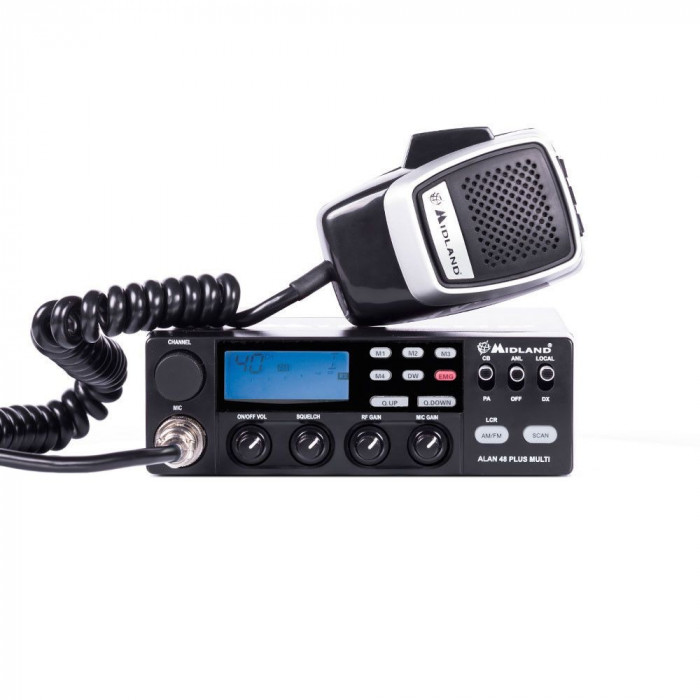 Resigilat : Statie radio CB Midland Alan 48 Multi Plus B Cod C422.15