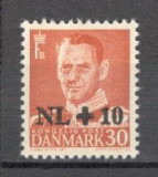 Danemarca.1953 Ajutor ptr. inundatii din Olanda-supr. KD.1, Nestampilat