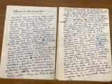 Lot 3 manuscrise Petru Vintila 13 pagini