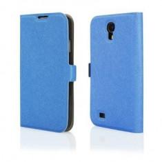 Husa Flip book Samsung Galaxy S4 i9500 Blue Motomo