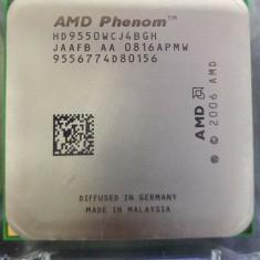 Procesor AMD Phenom II x 4 9550 Quad Core 2.2 GHz socket AM2 / AM2+  si Pasta