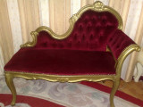 Canapea/divan/sofa/bancheta/fotoliu hol/dormitor baroc/ludovic,vintage/antica, Fotolii