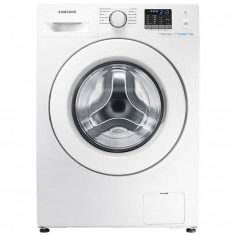 Masina de spalat rufe slim Samsung Eco Bubble WF60F4E0W0W, 1000 RPM, 6 kg, Clasa A++, Alb