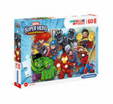 Cumpara ieftin Puzzle Maxi Marvel - Superhero, 60 piese, Clementoni