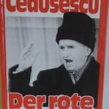 Joachim Siegerist - Ceausescu, Der rote Vampir, germana