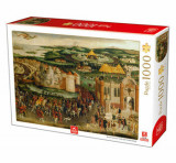 Cumpara ieftin Puzzle Royal Collecton - Filed of the Cloth of Gold, 1000 piese
