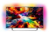 Televizor LED Philips 109 cm (43inch) 43PUS7303/12, Ultra HD 4K, Smart TV, Android TV, Ambilight, WiFi, CI+