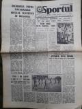 Ziarul Sportul din 9 septembrie 1977