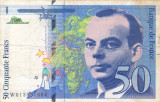 FRANTA 50 francs 1993 VF!!!