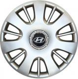 Set 4 Capace Roti Kerime R15, Potrivite Jantelor de 15 inch, Pentru Hyundai, Model 312
