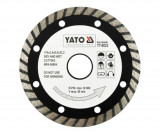 Disc diamantat Turbo 115 mm YATO