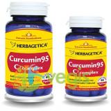 Curcumin 95 C3 Complex 60cps+10cps Pachet 1+1 Promo