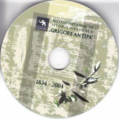 Muzeul național de istorie naturală Grigore Antipa, DVD, Romana