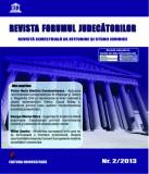 Cumpara ieftin Revista Forumul Judecatorilor - nr. 2 2013