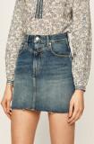 Cumpara ieftin Pepe Jeans - Fusta jeans Rachel Archive