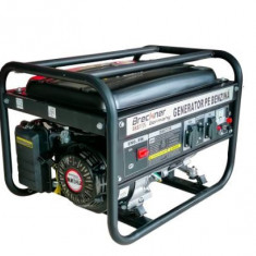Generator de curent monofazat Breckner BS 2500 (2 x 220V), motor OHV 7 CP, AVR,...